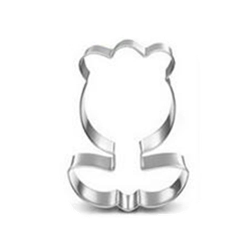 Tulip Cookie Cutter - 7cm - Stainless Steel - Crafty Cookie Cutters