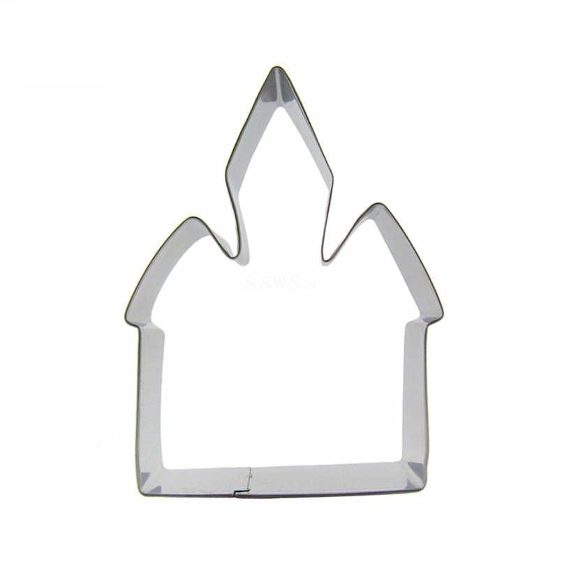 Magic Castle Cookie Cutter - 10cm - Stainless Steel - Crafty Cookie Cutters