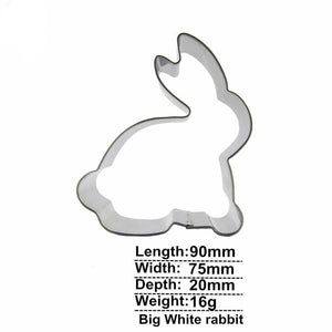 Rabbit Cookie Cutter - 9cm - Stainless Steel - Crafty Cookie Cutters