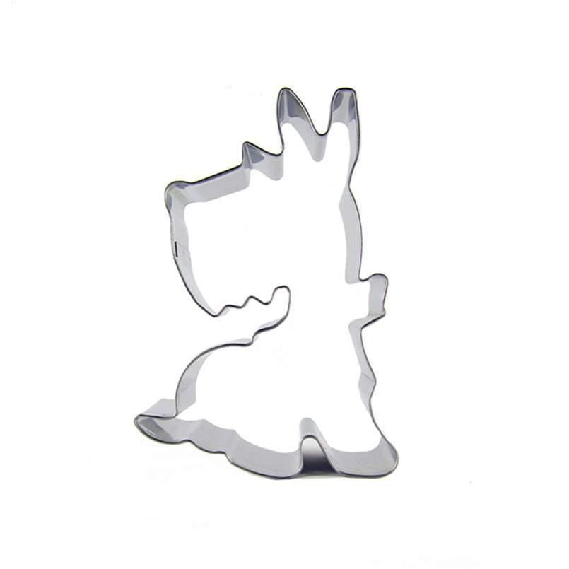 Scotty Dog Cookie Cutter - 9cm - Stainless Steel - Crafty Cookie Cutters