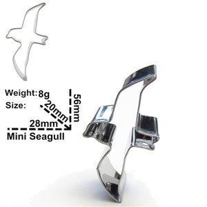 Assorted Birds Set - Stainless Steel - Crafty Cookie Cutters