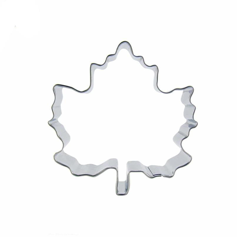 Leaf Cookie Cutter - 8cm - Stainless Steel - Crafty Cookie Cutters