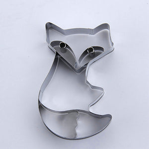 Fox Cookie Cutter - 11cm - Stainless Steel - Crafty Cookie Cutters