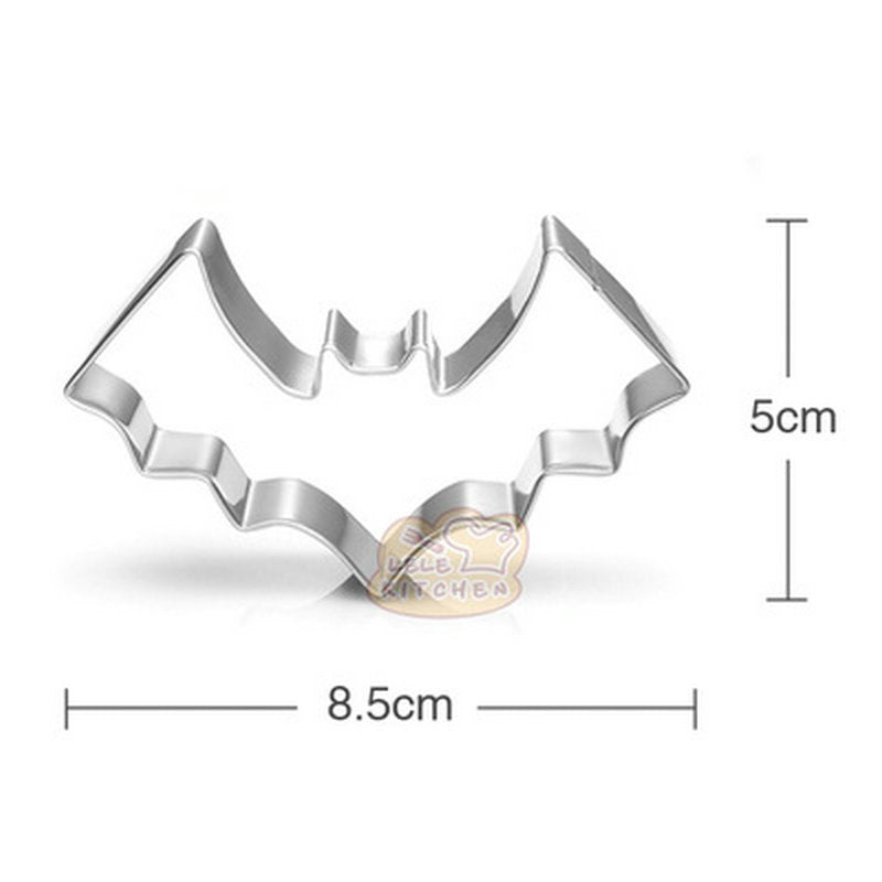 Bat Cookie Cutter - 9cm - Stainless Steel - Crafty Cookie Cutters