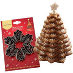 Christmas Tree Snowflake Set - 9pcs - Stainless Steel - Crafty Cookie Cutters