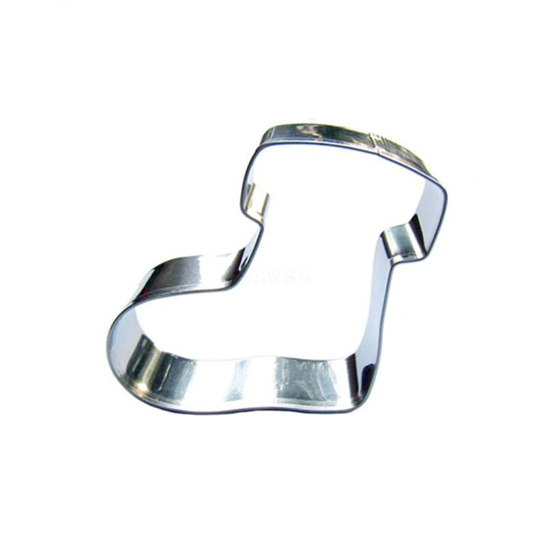 Snow Boot Cookie Cutter - 5cm - Stainless Steel - Crafty Cookie Cutters