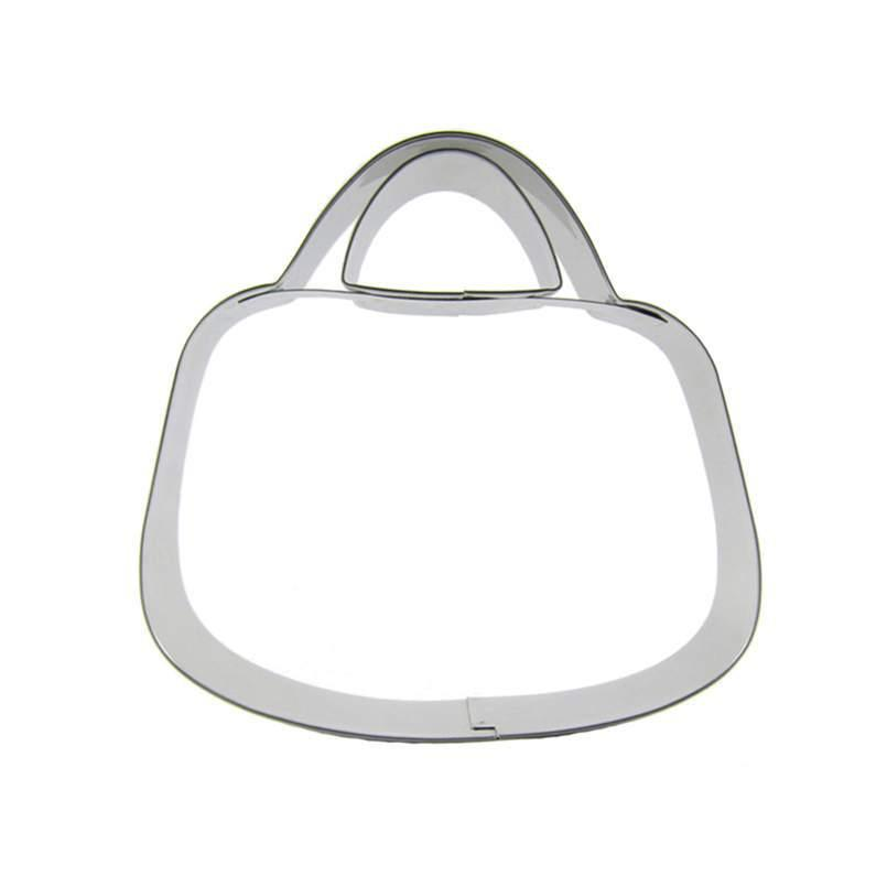 Bag Cookie Cutter - 10cm - Stainless Steel - Crafty Cookie Cutters