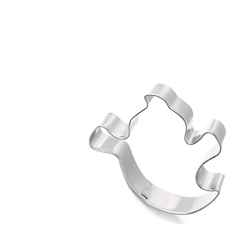Ghost Cookie Cutter - 7cm - Stainless Steel - Crafty Cookie Cutters