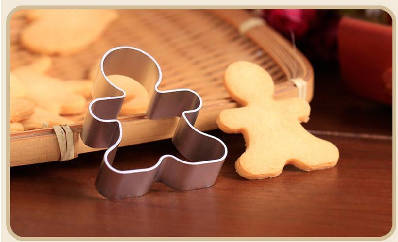 Gingerbread Man Cookie Cutter - 10cm - Aluminium - Crafty Cookie Cutters