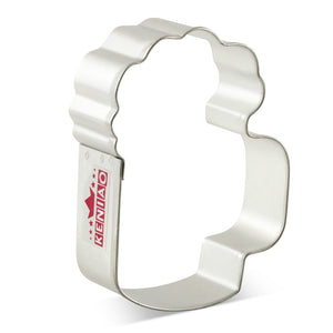 Beer Mug Cookie Cutter - 9cm - Stainless Steel - Crafty Cookie Cutters