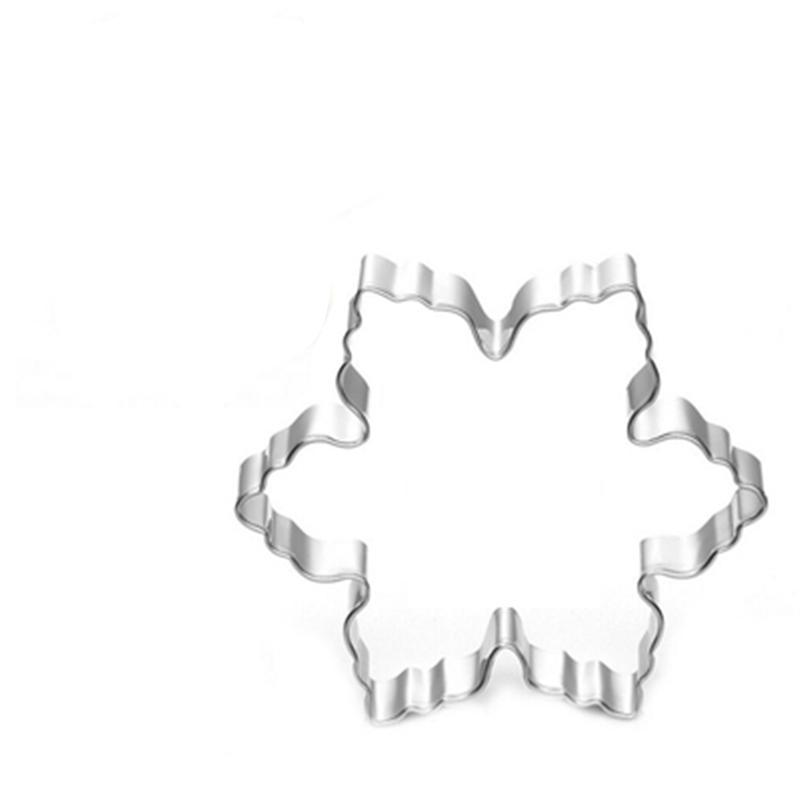 Snowflake Cookie Cutter - 8cm - Stainless Steel - Crafty Cookie Cutters