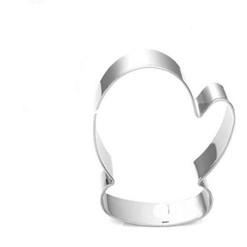 Gloves Cookie Cutter - 8cm - Stainless Steel - Crafty Cookie Cutters