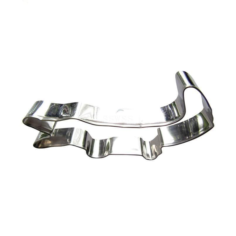 Crocodile, Alligator Cookie Cutter - 12cm - Stainless Steel - Crafty Cookie Cutters