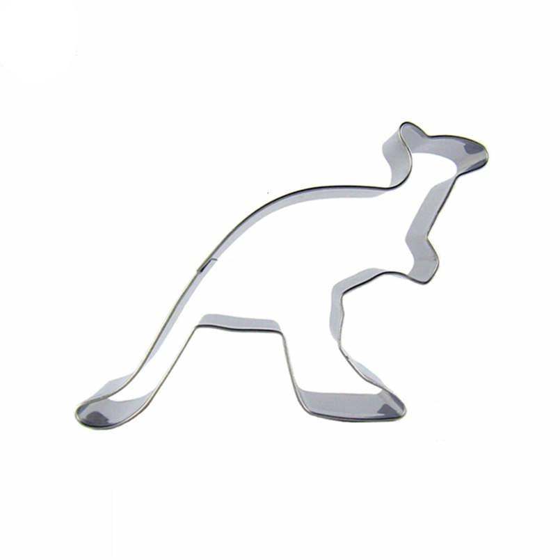 Kangaroo Cookie Cutter - 10cm - Stainless Steel - Crafty Cookie Cutters