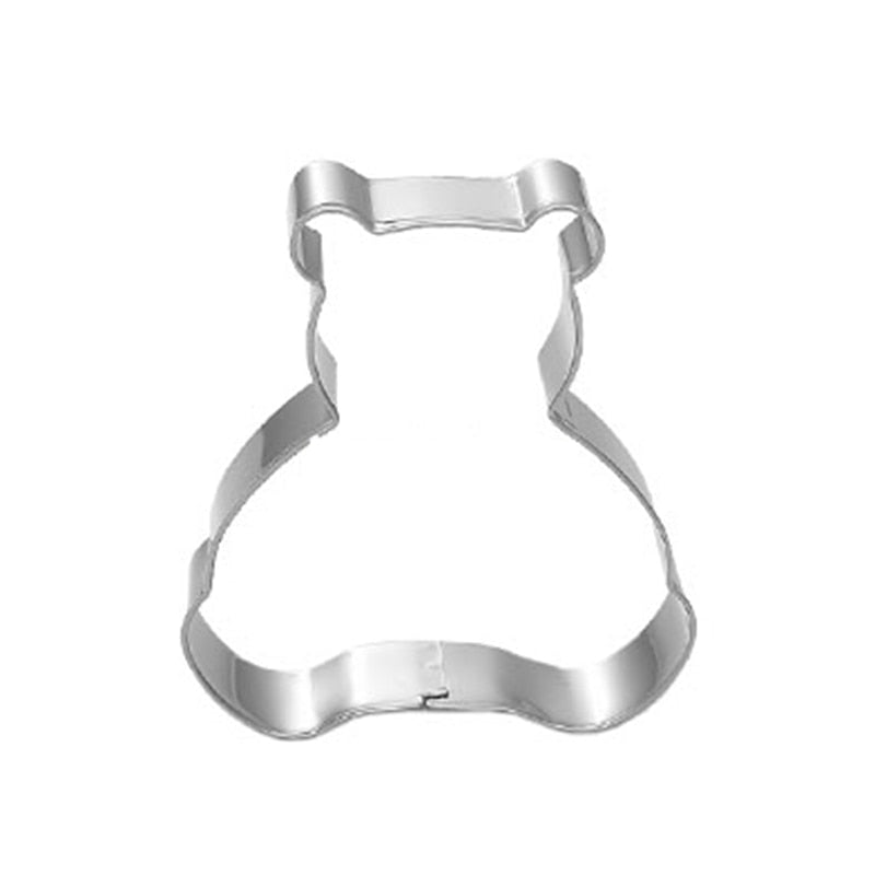 Bear Cookie Cutter - Stainless Steel - Crafty Cookie Cutters
