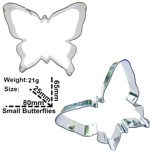 Butterfly Variants Cookie Cutter - Stainless Steel - Crafty Cookie Cutters