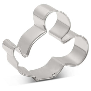 Mickey Cookie Cutter - Stainless Steel - Crafty Cookie Cutters