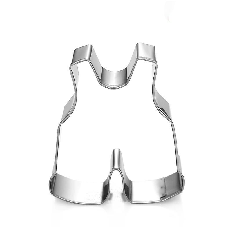 Overalls Cookie Cutter - Stainless Steel - Crafty Cookie Cutters