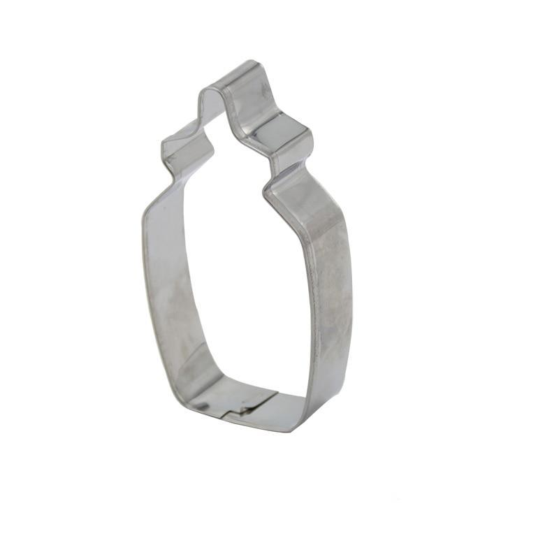 Baby Bottle Cookie Cutter - 8cm - Stainless Steel - Crafty Cookie Cutters