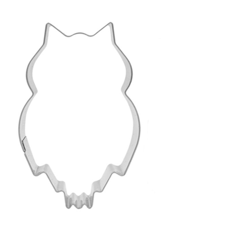 Owl Cookie Cutter - 7cm - Stainless Steel - Crafty Cookie Cutters