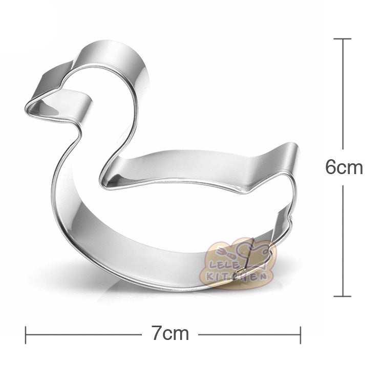 Swan Cookie Cutter - 7cm - Crafty Cookie Cutters