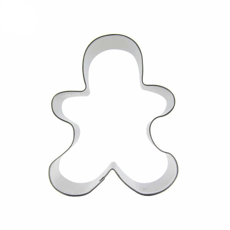 Gingerbread Man Cookie Cutter - 9cm - Stainless Steel - Crafty Cookie Cutters