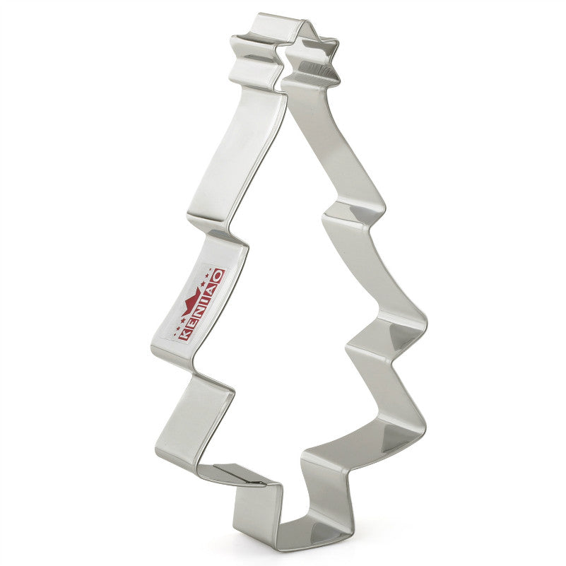 Christmas Tree Cookie Cutter - 16cm - Stainless Steel - Crafty Cookie Cutters