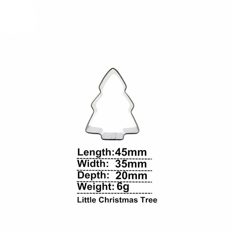 Christmas Tree Cookie Cutter - 5cm - Stainless Steel - Crafty Cookie Cutters