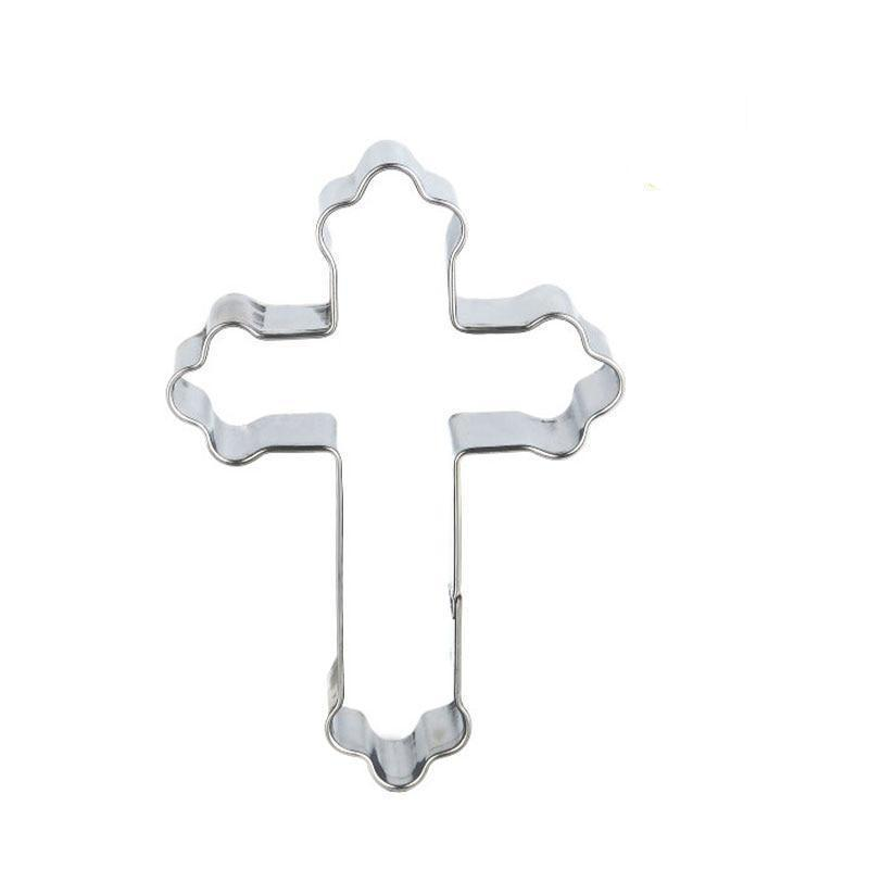 Cross Cookie Cutter - 9cm - Stainless Steel - Crafty Cookie Cutters