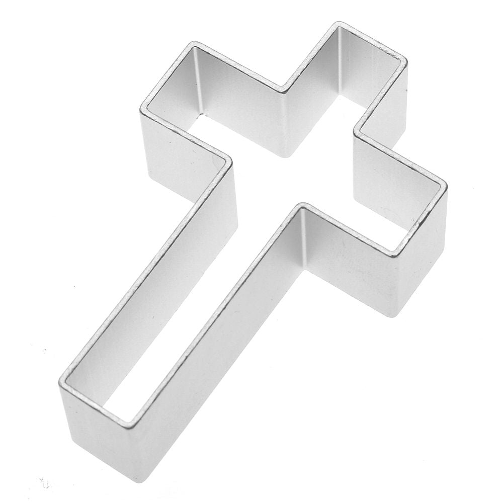 Cross Cookie Cutter - Stainless Steel - Crafty Cookie Cutters