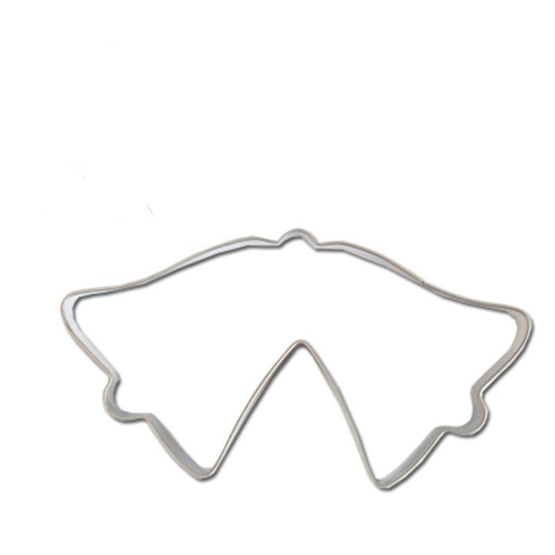 Jingle Bells Cookie Cutter - 10cm - Stainless Steel - Crafty Cookie Cutters
