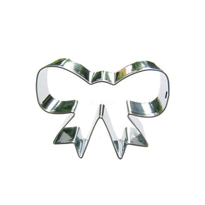 Bow Tie Cookie Cutter - 7cm - Stainless Steel - Crafty Cookie Cutters