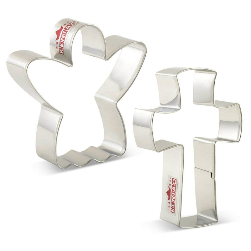 Easter Cookie Cutter Set - 2pcs - Stainless Steel - Crafty Cookie Cutters
