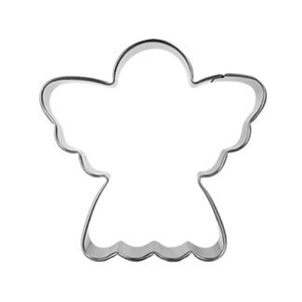 Angel Cookie Cutter - Stainless Steel - Crafty Cookie Cutters