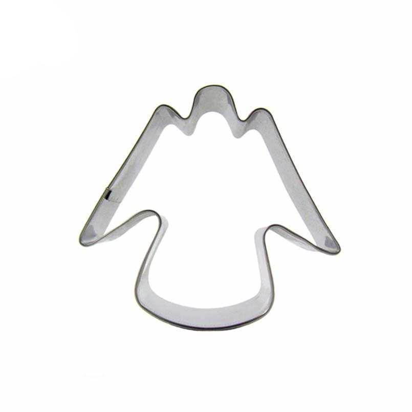 Angel Cookie Cutter - 7cm - Stainless Steel - Crafty Cookie Cutters