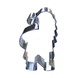 Santa Cookie Cutter - 13cm - Stainless Steel - Crafty Cookie Cutters