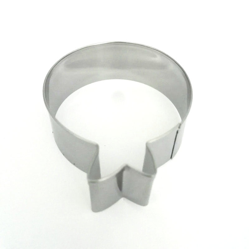 Balloon Cookie Cutter - 8cm - Stainless Steel - Crafty Cookie Cutters