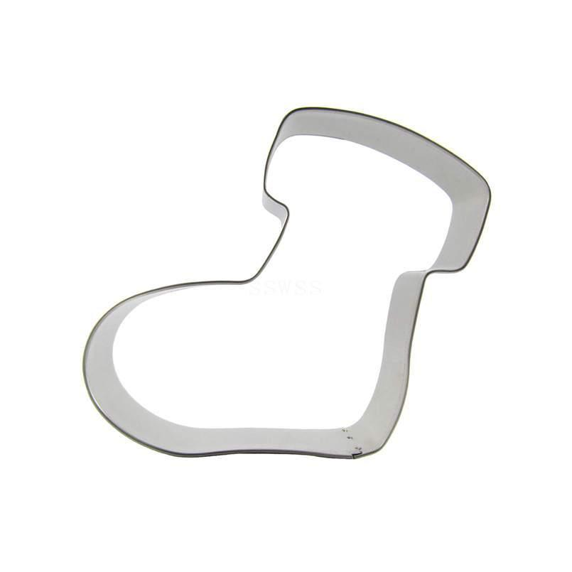 Snow Boot Cookie Cutter - 10cm - Stainless Steel - Crafty Cookie Cutters