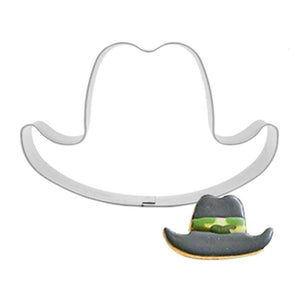 Hat Cookie Cutter - 8cm - Stainless Steel - Crafty Cookie Cutters