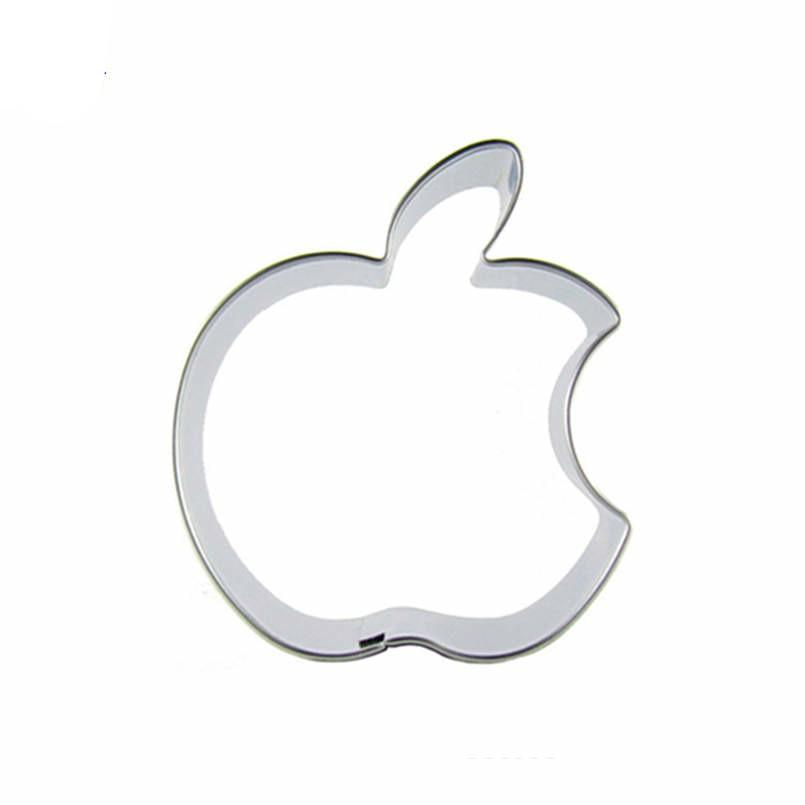 Apple Cookie Cutter - 7cm - Stainless Steel - Crafty Cookie Cutters