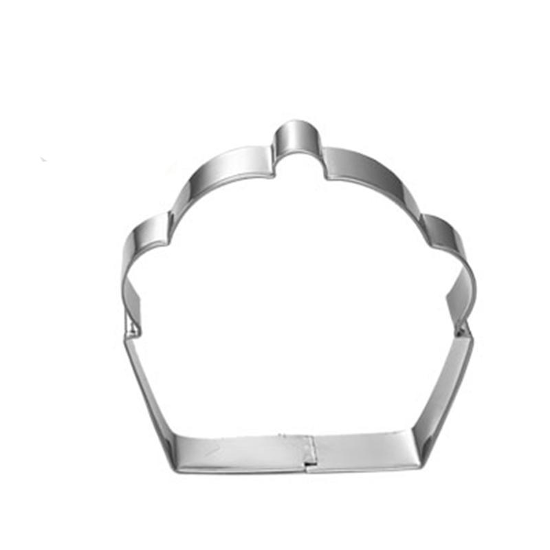 Cupcake Cookie Cutter  - Stainless Steel - Crafty Cookie Cutters