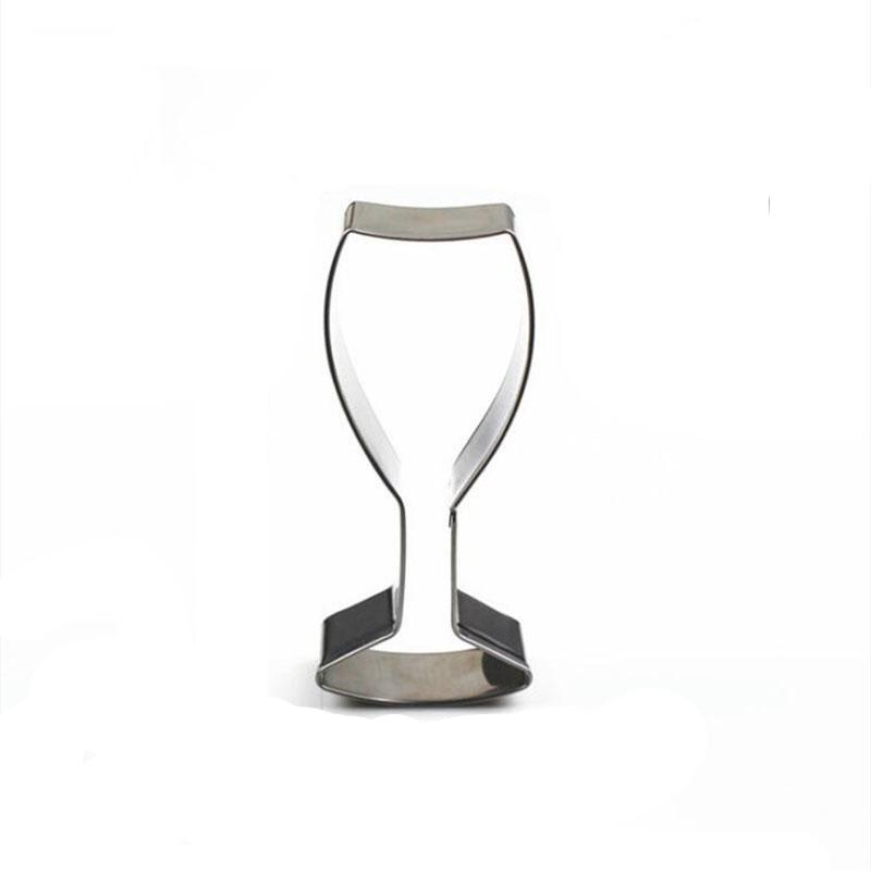 Wine Glass Cookie Cutter - 9cm - Stainless Steel - Crafty Cookie Cutters