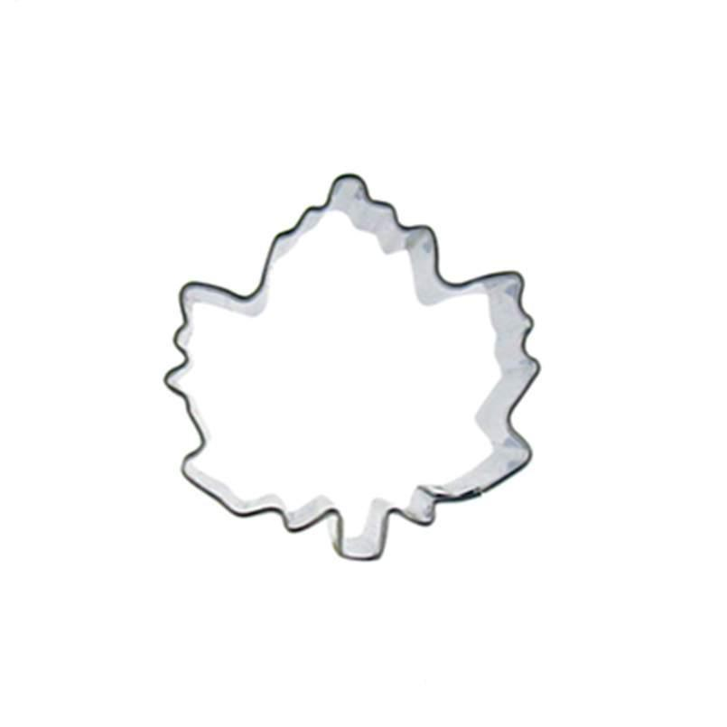 Leaf Cookie Cutter - 5cm - Metal - Crafty Cookie Cutters