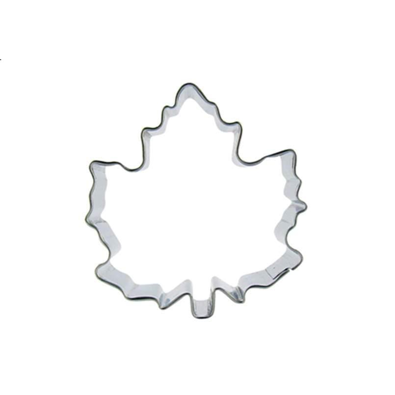 Leaf Cookie Cutter - 5cm - Stainless Steel - Crafty Cookie Cutters