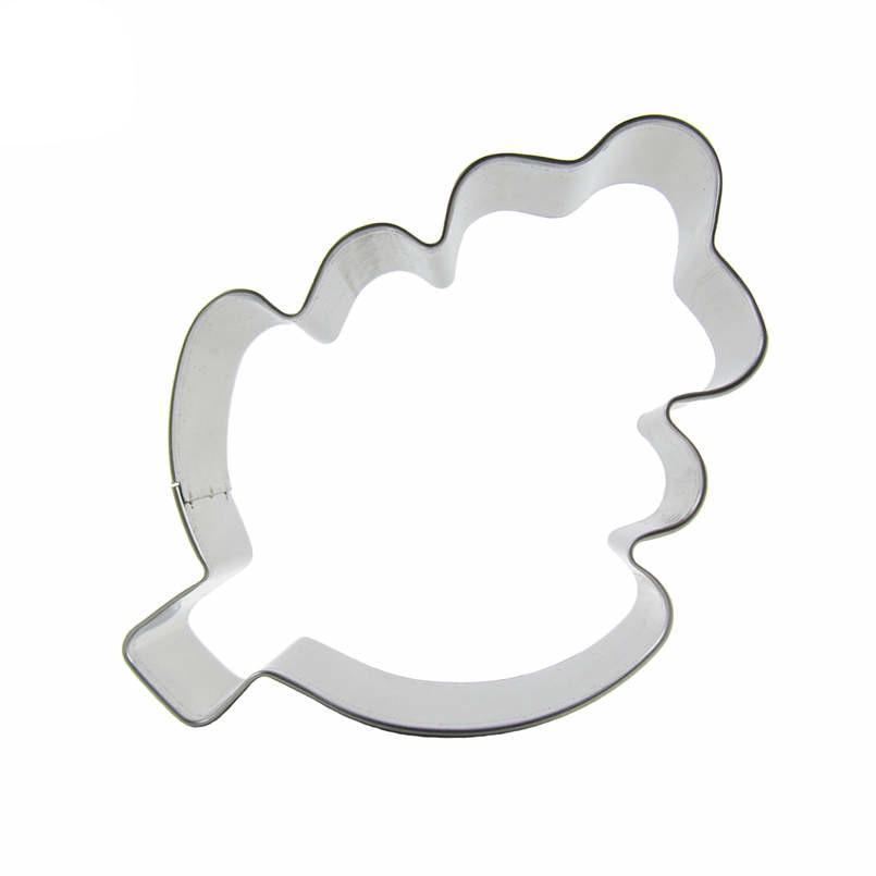 Leaf Cookie Cutter - 11cm - Stainless Steel - Crafty Cookie Cutters
