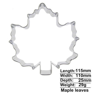 Leaf Cookie Cutter - 12cm - Stainless Steel - Crafty Cookie Cutters