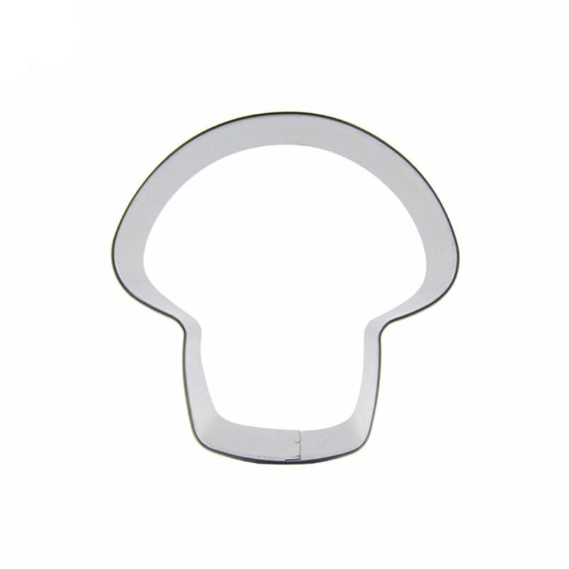 Mushroom Cookie Cutter - 8cm - Stainless Steel - Crafty Cookie Cutters