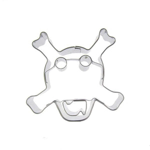 Skull Cookie Cutter - 7cm - Stainless Steel - Crafty Cookie Cutters