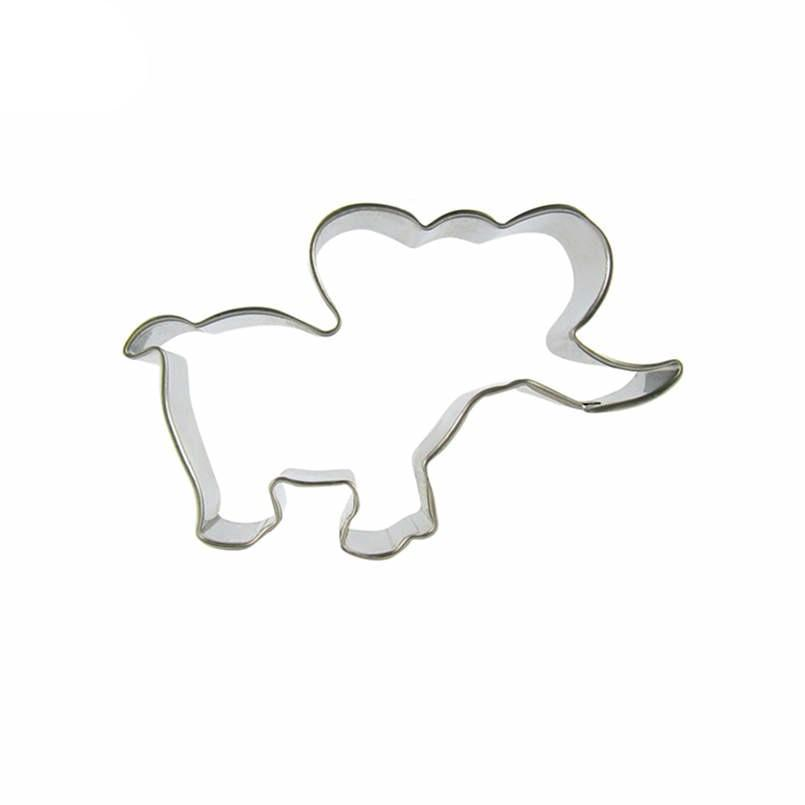 Baby Elephant Cookie Cutter - 10cm - Stainless Steel - Crafty Cookie Cutters