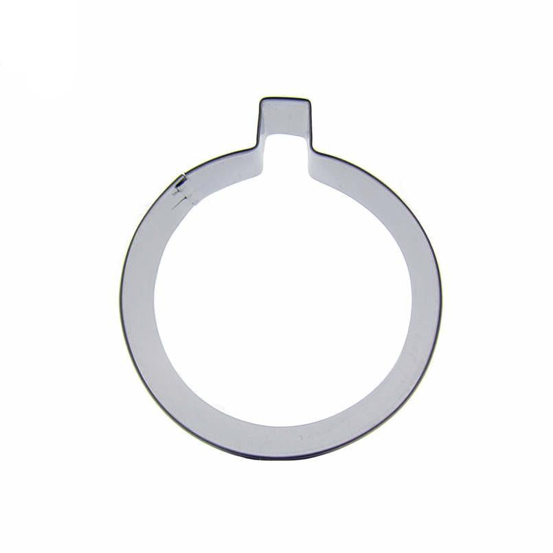 Bomb Cookie Cutter - 8cm - Stainless Steel - Crafty Cookie Cutters